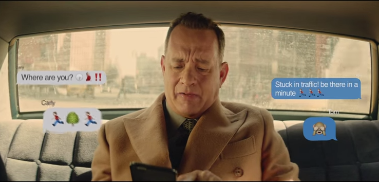 Tom Hanks stars in the new music video of Carly Rae Jepsen