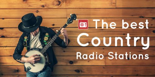 The best Country music radio stations
