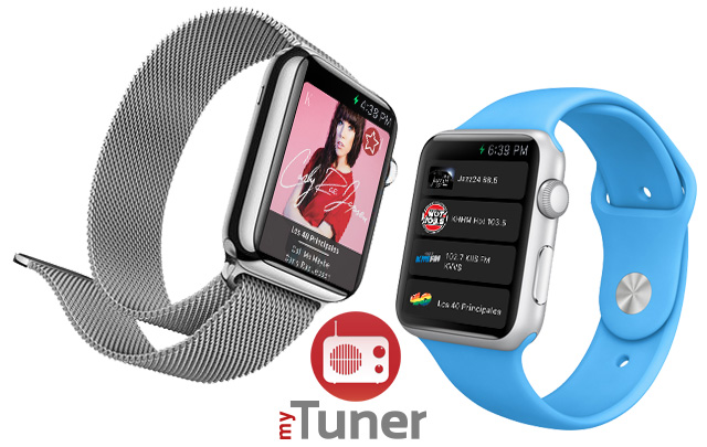 myTuner Radio on Apple Watch!