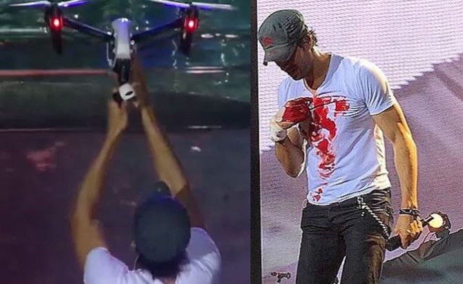 Enrique Iglesias accident update