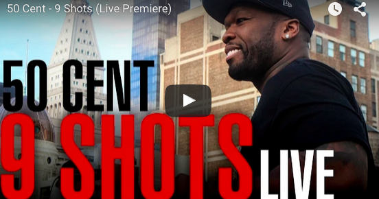 "50 Cent debuts new single ""9 Shots"""