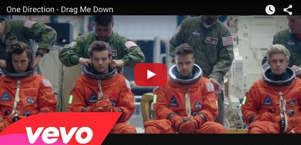 One Direction's new video will take you to space