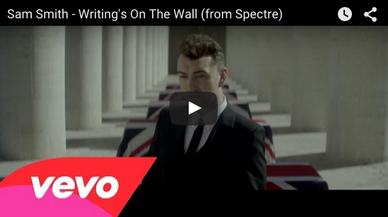 "Sam Smith unveils ""Writing's on the Wall"" video"