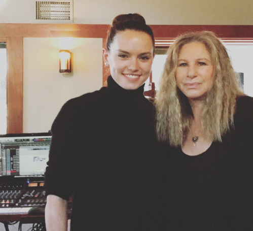 Daisy Ridley working with Barbra Streisand?