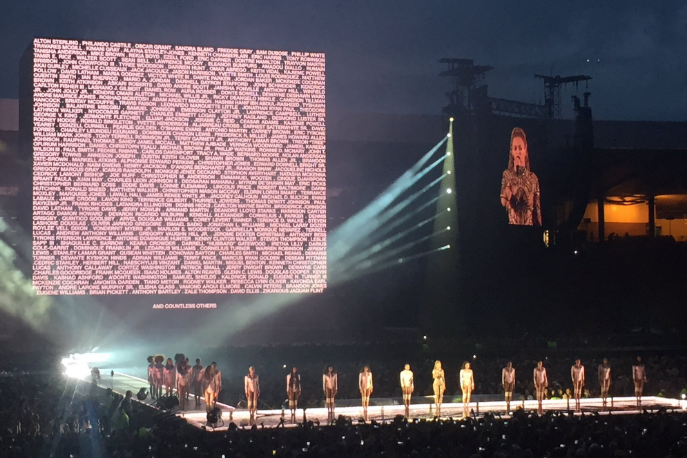 Beyoncé Pays Tribute to Victims of Police Brutality