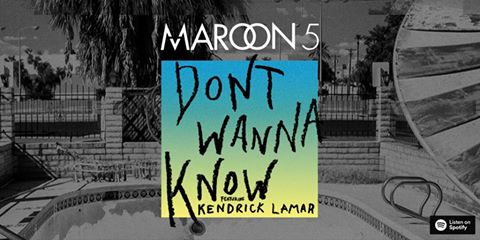 Maroon 5 and Kendrick Lamar Share Collab