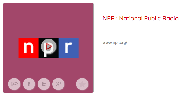 NPR Radio Shows