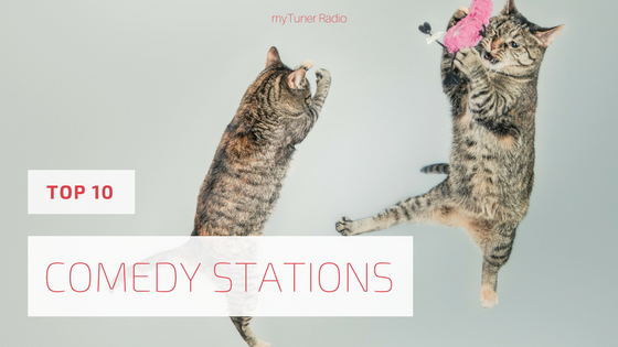 10 on the 10th - The 10 Best Comedy Radio Stations
