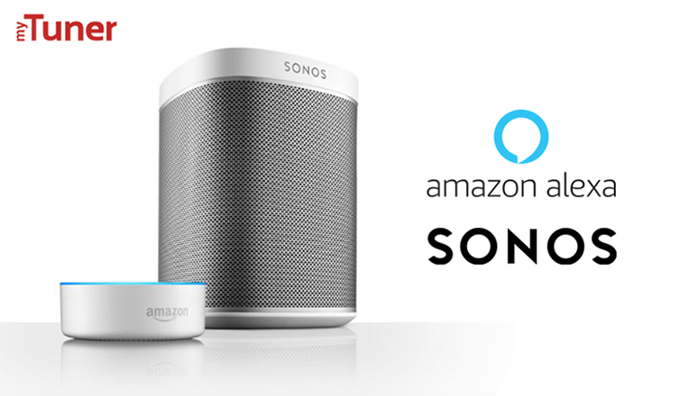 Alexa and Sonos play myTuner Radio!